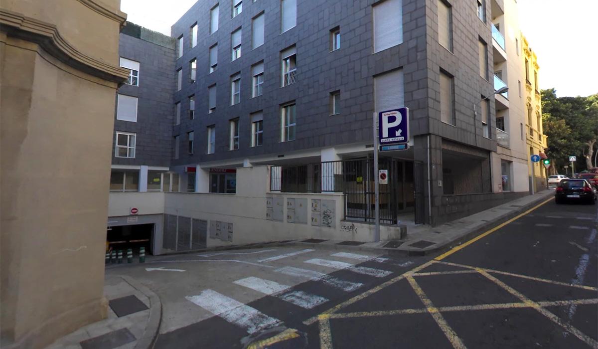 Parkings baratos Santa Cruz de Tenerife calle Santa Rosalía
