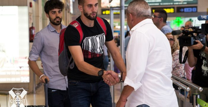 """Sipcic: """"Llegar al CD Tenerife es un gran paso en mi carrera, daré lo mejor"""""""