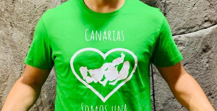 La camiseta verde solidaria para el derbi canario del fútbol ya tiene diseño