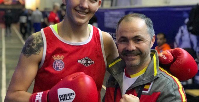La tinerfeña Melissa Tudge, víctima de una decisión precipitada en el Campeonato de Europa de Boxeo Amateur