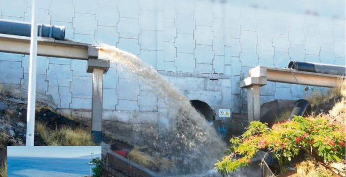 Una rotura de la tubería de Balten, en Santa Cruz, deja sin agua de riego al Sur