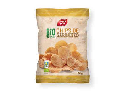 Chips de garbanzo ecológico