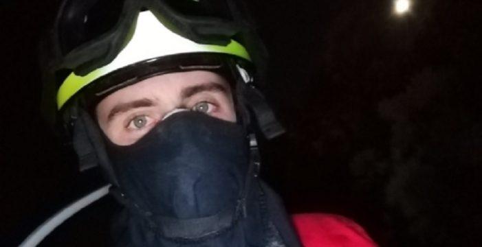 El contundente mensaje del voluntario Christian a los autores de los incendios de Gran Canaria