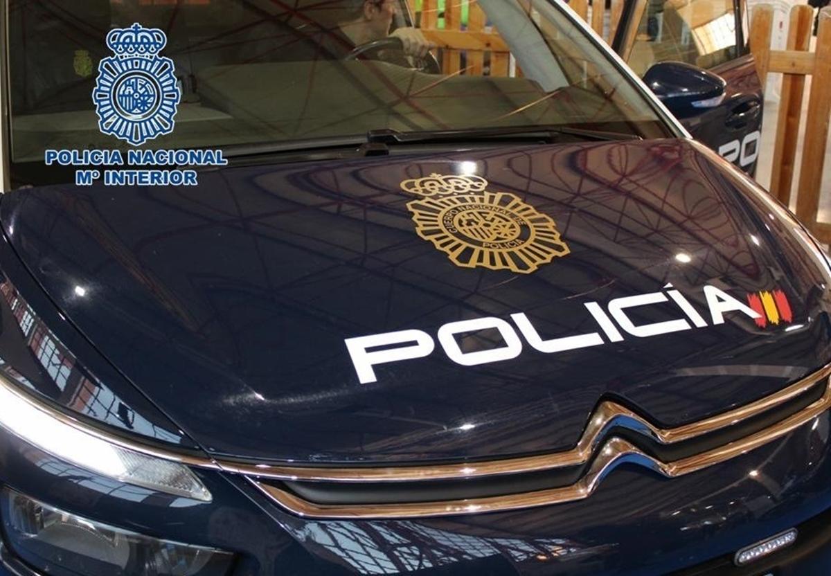 Foto de recurso de coche de la Policía Nacional. DA