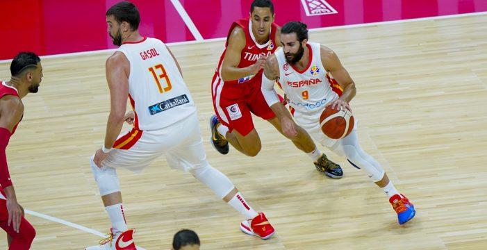 España arrasa a Túnez (101-62) en su debut en el Mundial de baloncesto