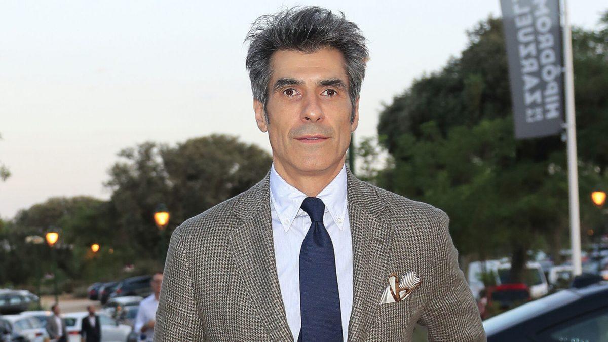 El presentador, Jorge Fernández. El Español