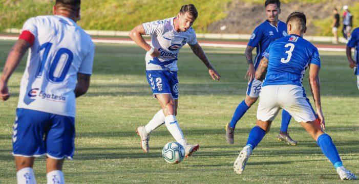 El Tenerife pierde 4-2 ante el filial del Braga en partido de entrenamiento