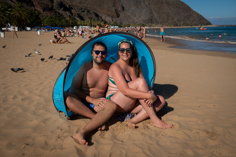 Playa de Las Teresitas / Foto: Fran Pallero