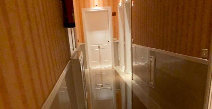 Así se inundaron las dos primeras plantas de un hotel en el Puerto de la Cruz