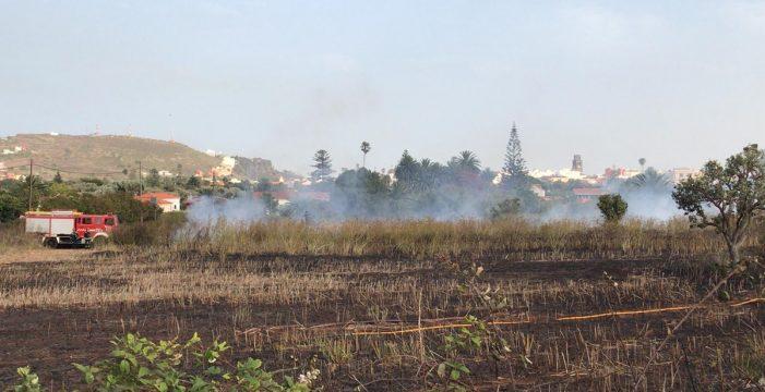 Alertan de un conato de incendio en La Laguna