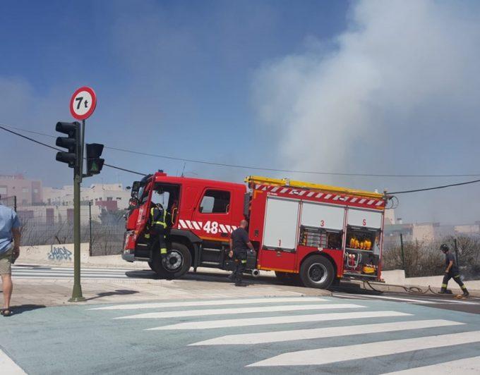 Conato de incendio en La Gallega