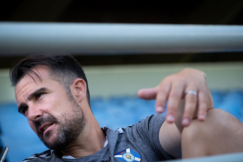 Aritz López Garai, entrenador del CD Tenerife