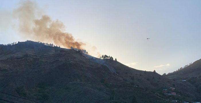 Extinguido el incendio en Las Lagunetas, en Gran Canaria