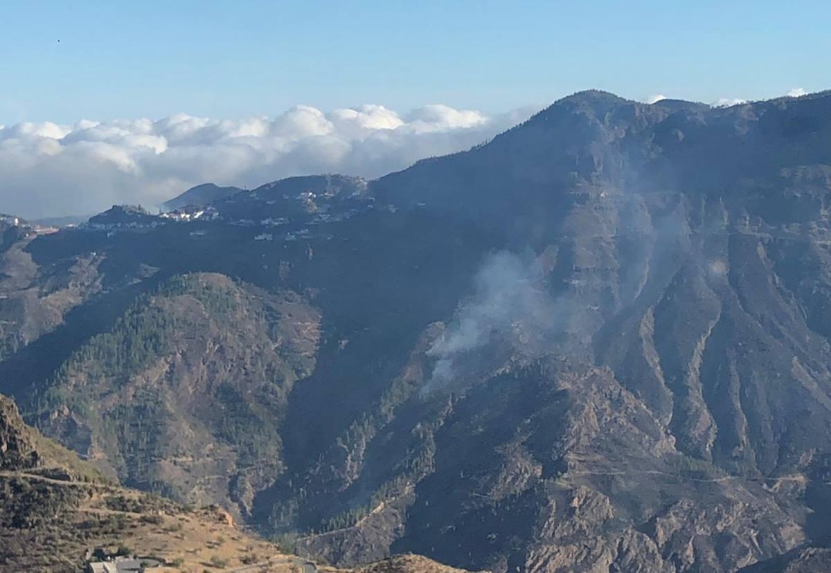 Estabilizado el incendio de Gran Canaria. DA