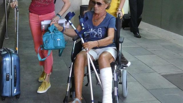 Chelo García Cortés, tras su accidente en Sálvame, tendrá que someterse a una operación