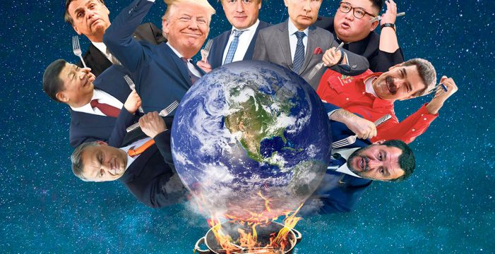 Crónica de un mundo de líderes canallas