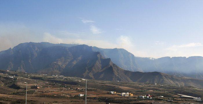 Estabilizado el incendio de Gran Canaria después de cinco días
