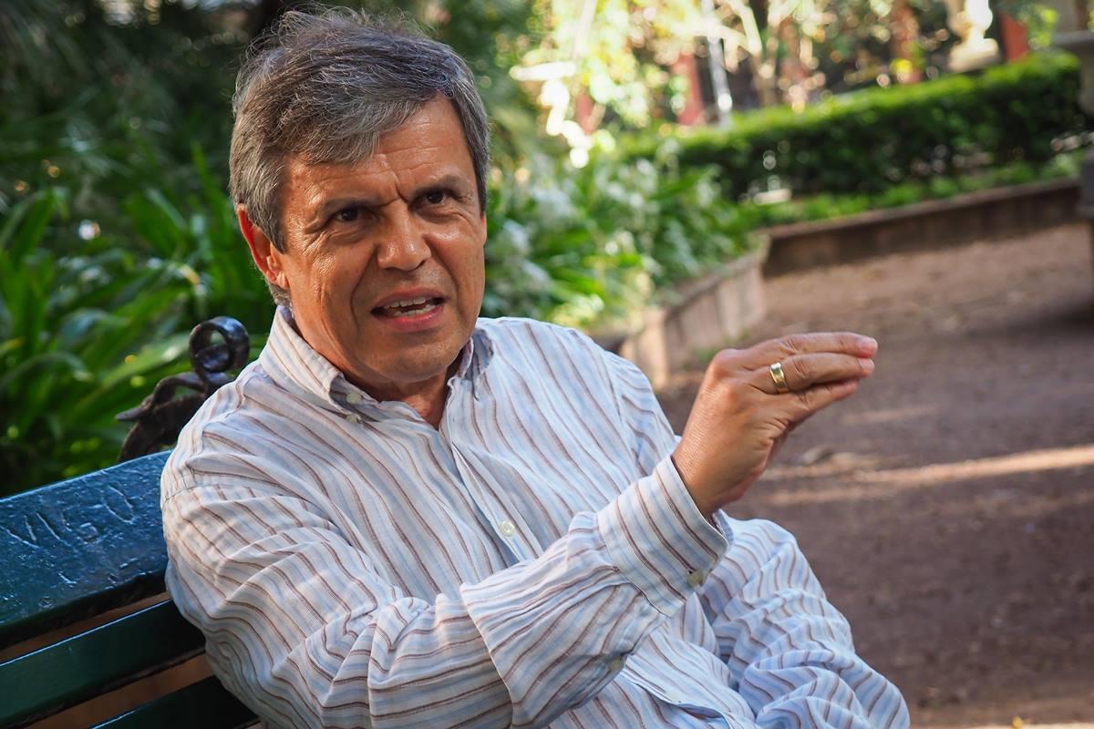 El profesor de la Universidad de La Laguna, Julio Yanes Mesa. Sergio Méndez