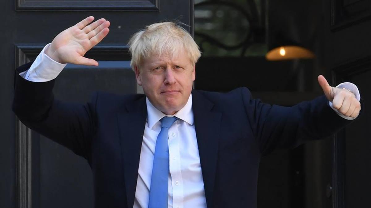 """El primer ministro británico, Boris Johnson, amenaza con un brexit """"sin peros ni condiciones"""". EP"""