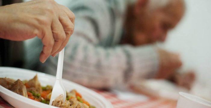 Los exusuarios del comedor de El Fraile demandan ayuda a Cruz Roja