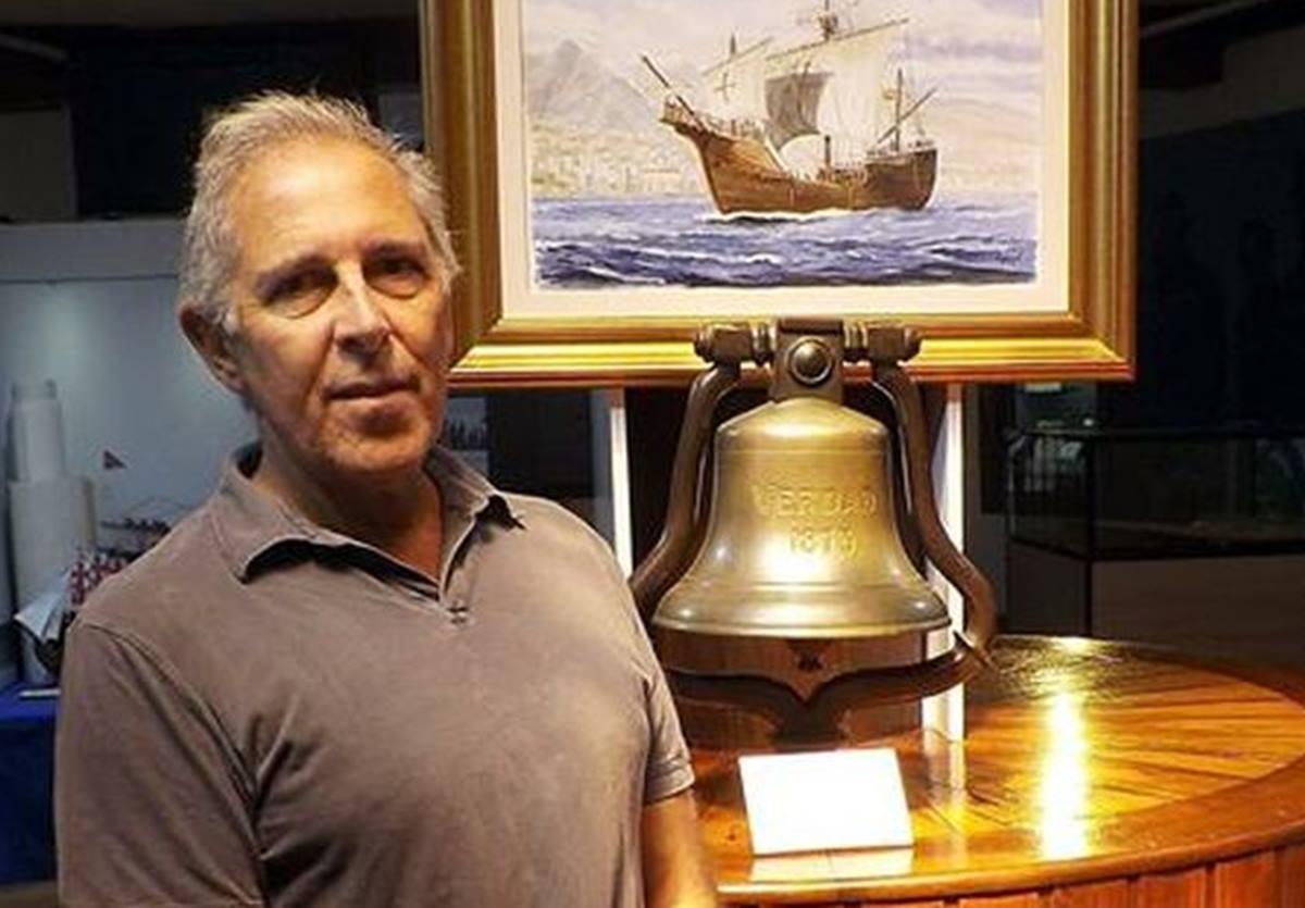 Filipe Castro, Profesor de la Universidad A&M de Texas, en Estados Unidos. EFE/Museo Naval de La Palma