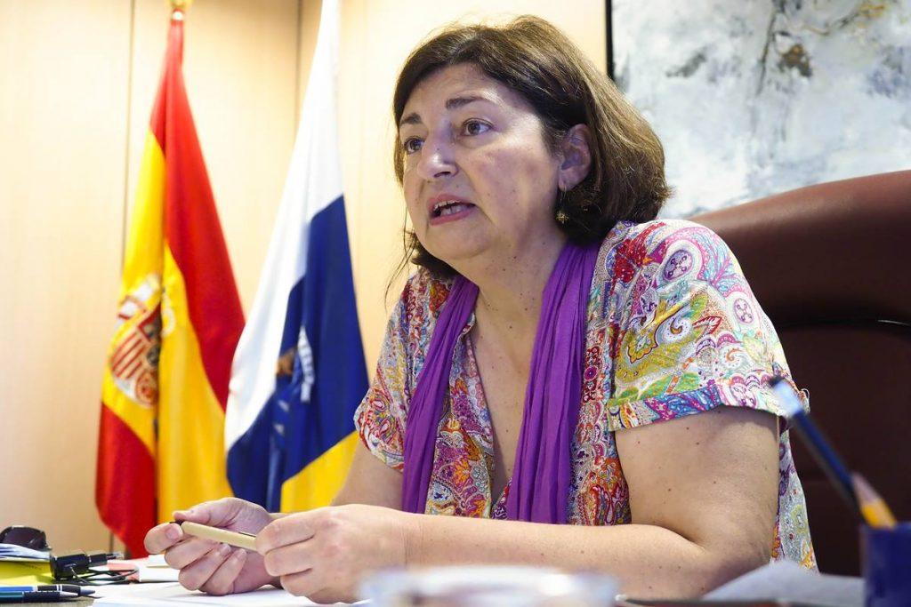 La consejera de Educación, Universidades, Cultura y Deportes, María José Guerra. Sergio Méndez