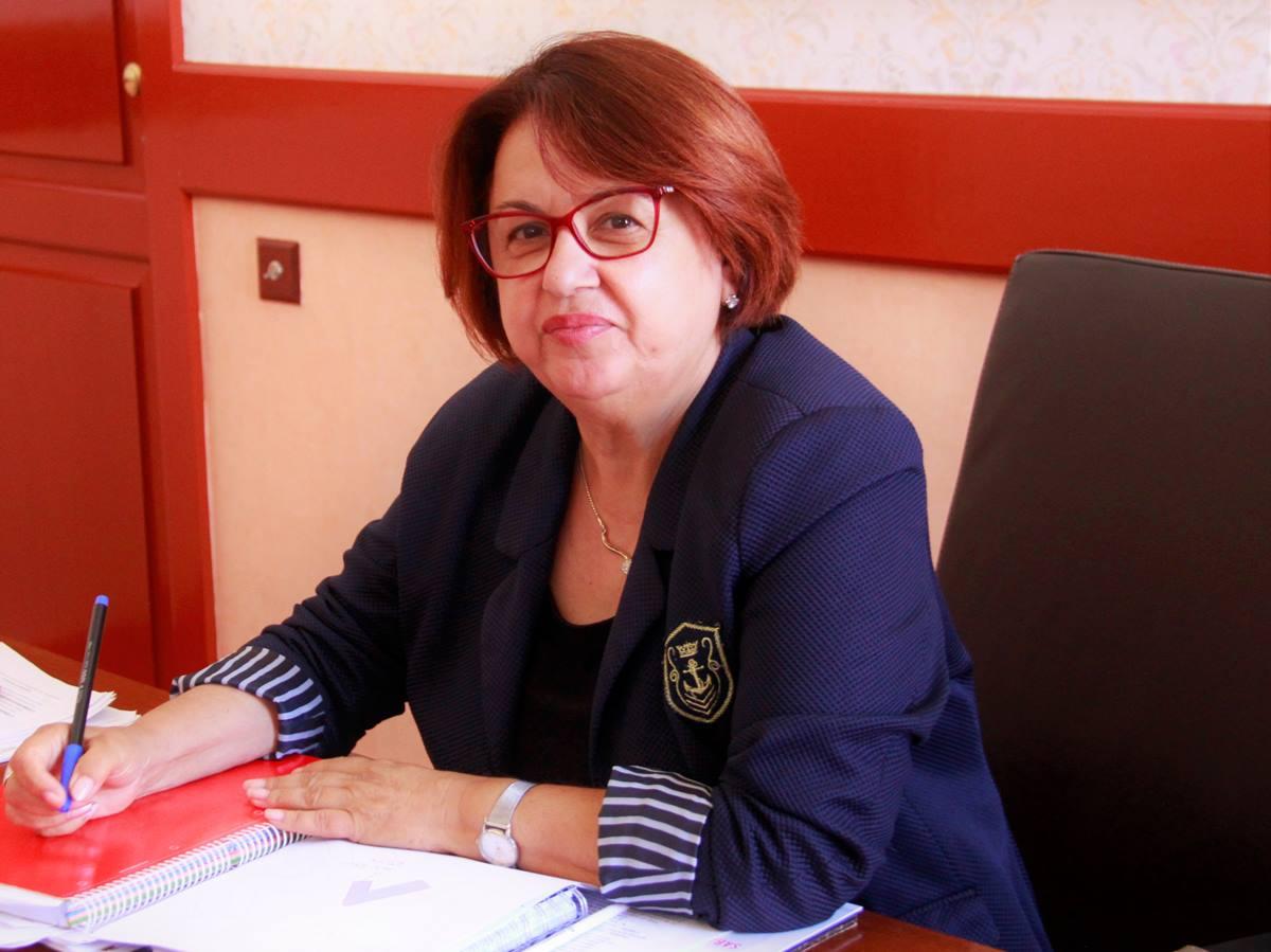Josefa Mesa (PSOE), ayer en su despacho. DA
