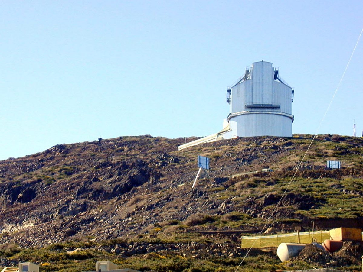 En el caso de que el consorcio descarte Hawái, el gran telescopio se construirá en el Observatorio del Roque de los Muchachos, en Puntagorda. DA