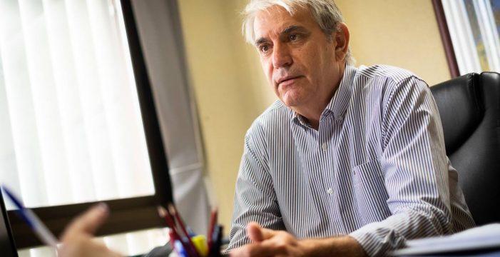 """José Sabaté: """"No conviene bajar impuestos si eso merma la prestación de servicios o hacer inversiones"""""""