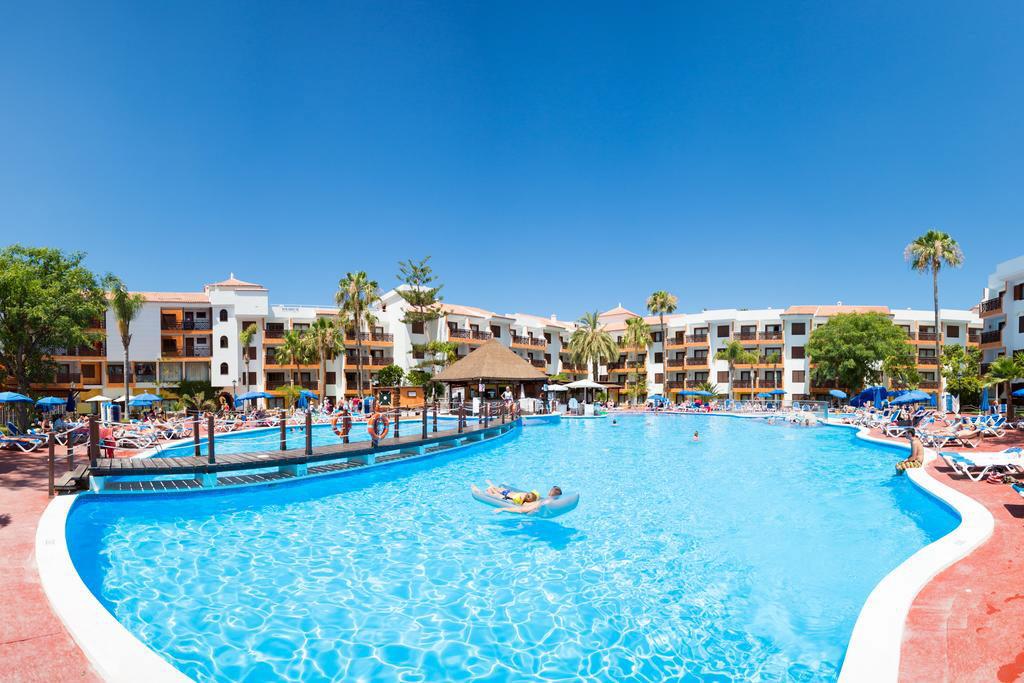 Imagen de un complejo hotelero en el sur de la isla de Tenerife. DA