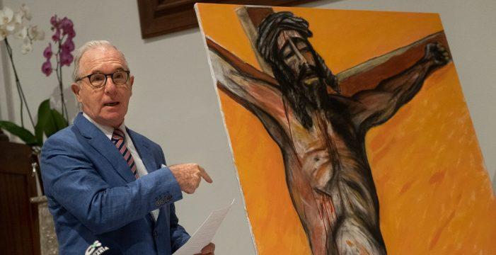 "Felipe Hodgson: ""Con mi obra del Cristo de La Laguna he roto con esa iconicidad religiosa que es la estampita"""