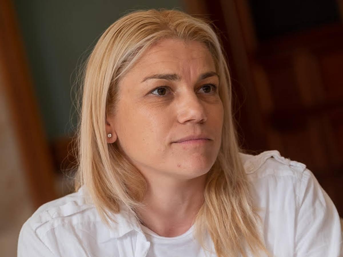 Sara Nanpéh creía necesario que las madres también participaran en la lucha por el clima en las Islas. Fran Pallero