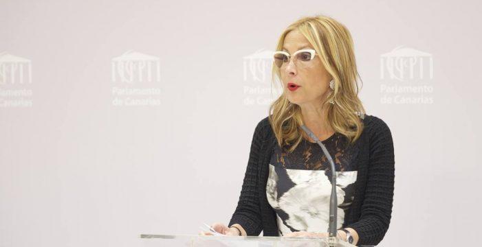 El PP no expedienta a su presidenta en Lanzarote pese a hacerlo en La Palma