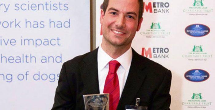 Un tinerfeño recibe un prestigioso premio europeo de veterinaria