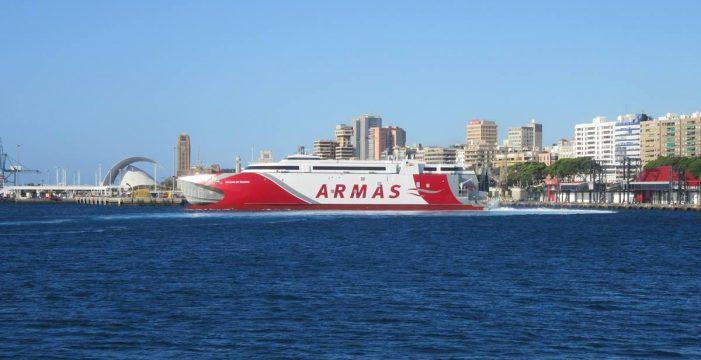 El ferry rápido más avanzado del mundo unirá Tenerife y Gran Canaria