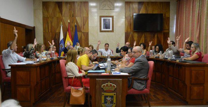 El Cabildo aprueba en tiempo récord los Presupuestos de 2019