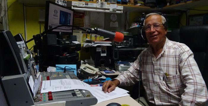 """Sito Simancas: """"Me gustaría que en mi epitafio se me recordara como la voz de  La Gomera"""""""