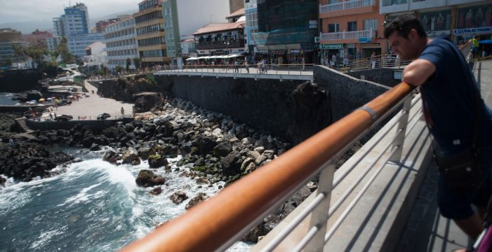 Reabierta la playa de San Telmo, en el Puerto de la Cruz