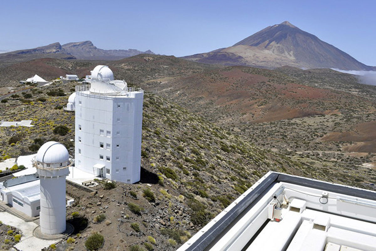 telescopio gregor teide