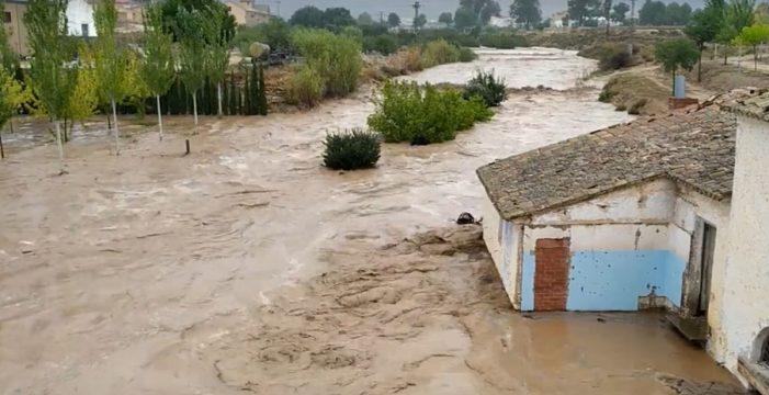 Fallece un matrimonio de 70 años dentro de su coche debido a una tromba de agua en Albacete