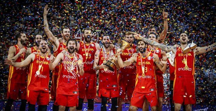 España arrolla a Argentina para ser nueva campeona del mundo (95-75)