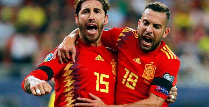 España gana en Rumanía (1-2) con brillo y oficio