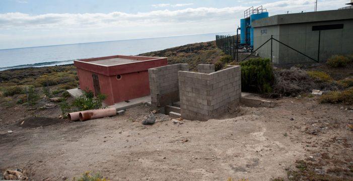 El emisario submarino del Polígono Valle de Gúímar puede volver a verter