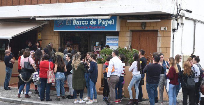 La Librería Barco de Papel celebra sus ocho años de andadura