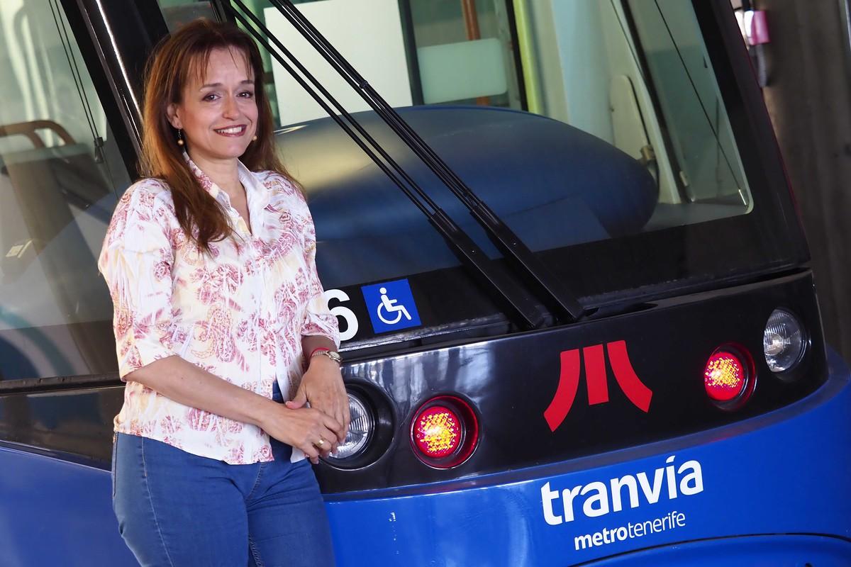 """Alicia Rodríguez Reyes: """"Ser la voz del Tranvía es el trabajo del que me siento más orgullosa"""". Sergio Méndez"""