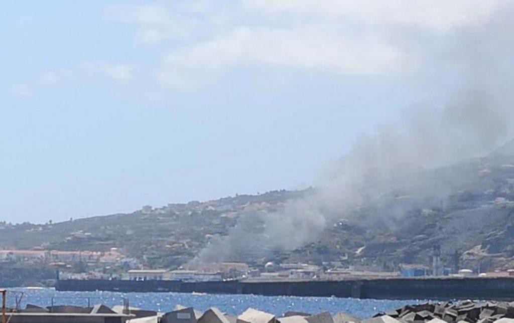 Sofocan un incendio en la isla de La Palma