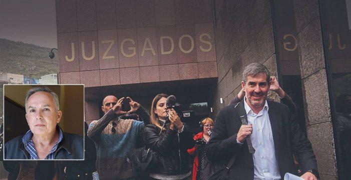 Nueva derrota de Clavijo ante la Justicia: el testigo clave del caso Grúas será llamado a declarar