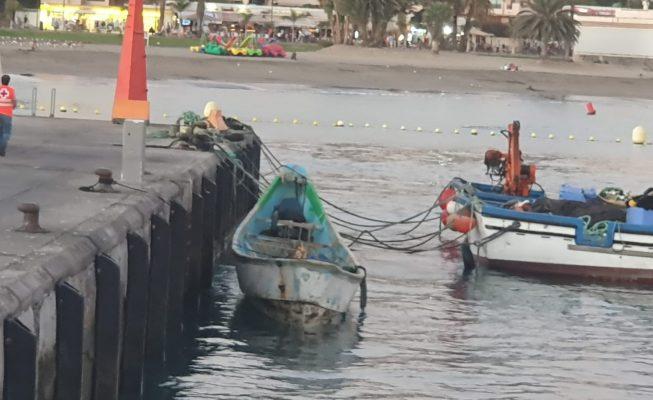 Rescatan a 69 migrantes en una embarcación al sur de Fuerteventura