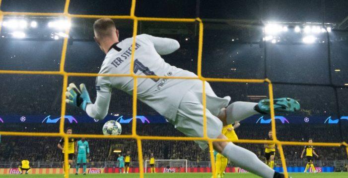 Ter Stegen salva a un Barça dormido en Dortmund (0-0)