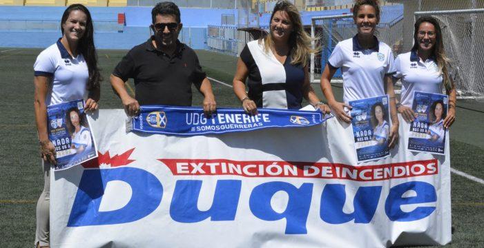 La UDG Tenerife Egatesa presentó el debut en La Palmera